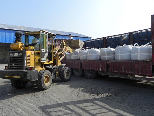 脱硫活性炭发往重庆