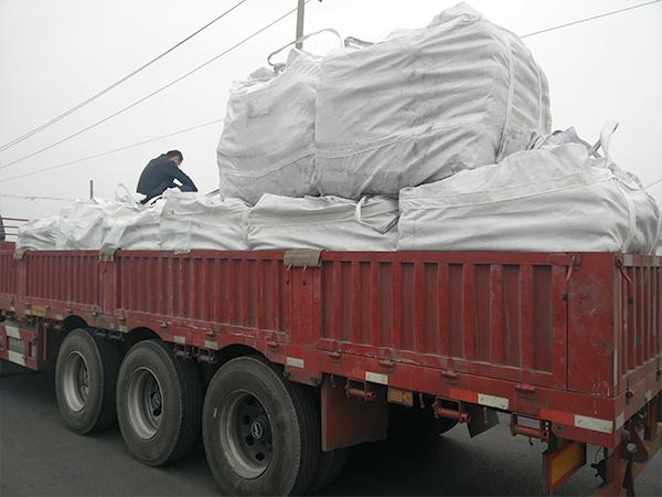 柱状活性炭发往上海
