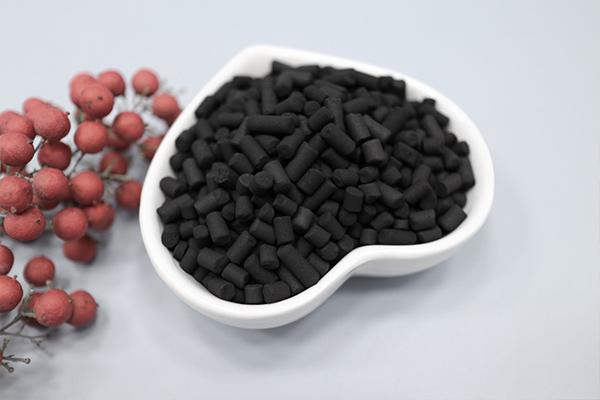 柱状活性炭的孔隙率